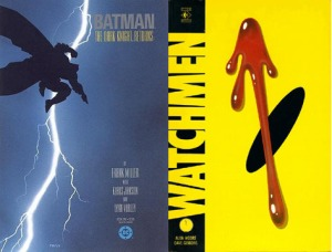 17 GraphicNovels-DarkKnightReturnsWatchmen