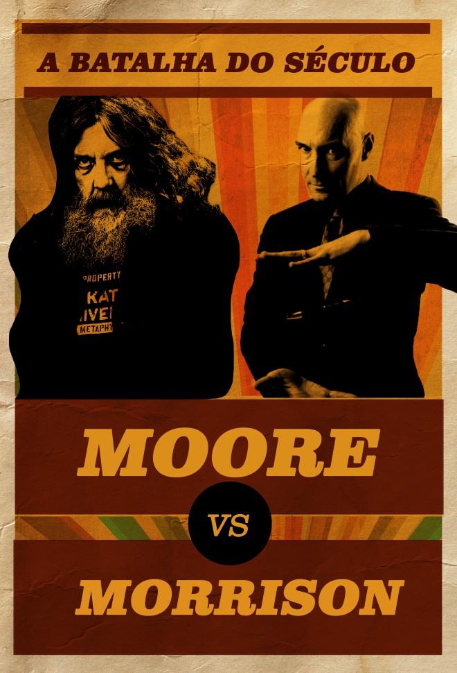 Alan Moore vs Grant Morrison, o Combate do Século