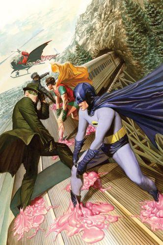 Alex Ross Revives Batman 66 Meets Green Hornet & Astro City - Comic Book Resources