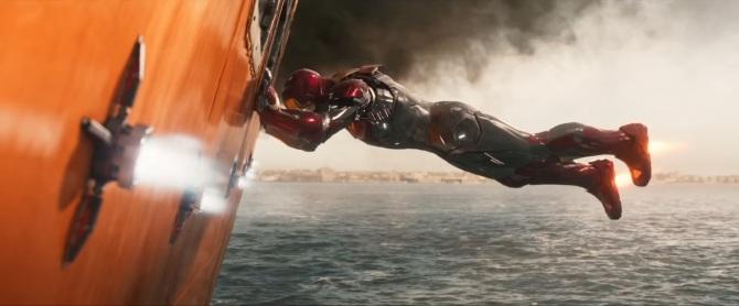 Spider-ManHomecomingIronManShipSave
