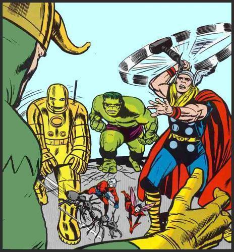 Avengers-Kirby